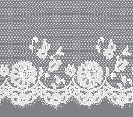 fabric textures: White Lace Pattern