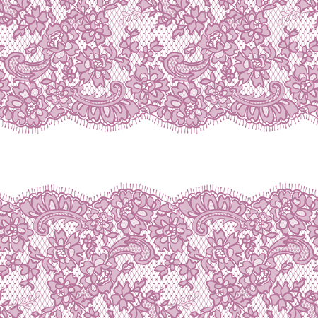 background textures: Seamless Vector Pink Lace Pattern