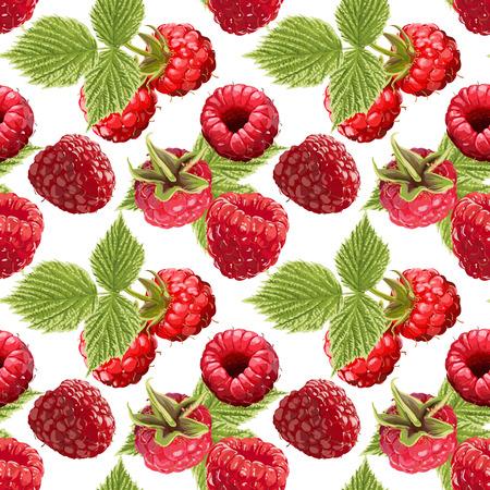 원활한 벡터 딸기 패턴