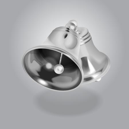 Vector Silver Bell illustration
