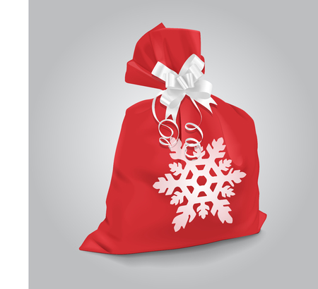 Vector Christmas Sack Illustration Illustration