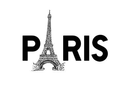 Eiffel Tower In Paris Vector Illustration