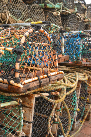 Lobster Cages at the Harbour