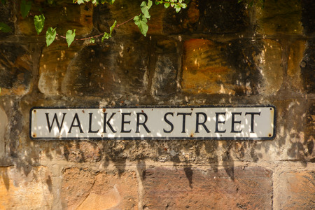Walker Street Stock Photo