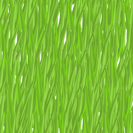 greenery: Green grass seamless pattern. Vector background natural greenery. Lawn texture Illustration