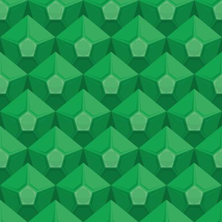 emerald: Emerald seamless texture. Gem background. Vector Green ornament.