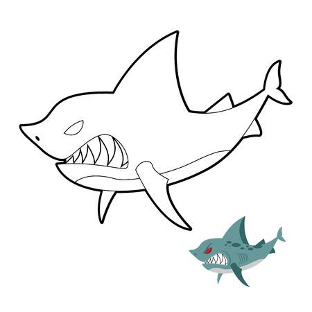En Alta Mar Los Peces Depredadores Con Una Linterna. Peces ...