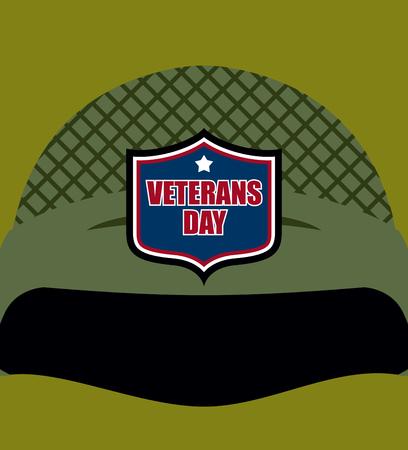 soldado: Día patriota. Emblema en el casco soldados. casco militar. Fiesta tradicional de América.