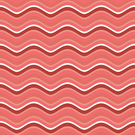 bacon strips: Bacon roasted seamless pattern. Thin piece of meat background. Pork texture. Food Ornament