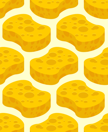 cleanse: Sponge yellow for washing pattern. Cleaning background