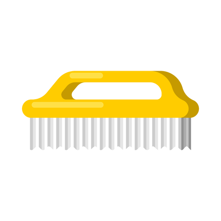 Washing brush isolated. Cleaning accessory. Cleaner object