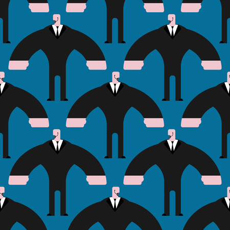 bodyguard: Bodyguard seamless pattern Illustration