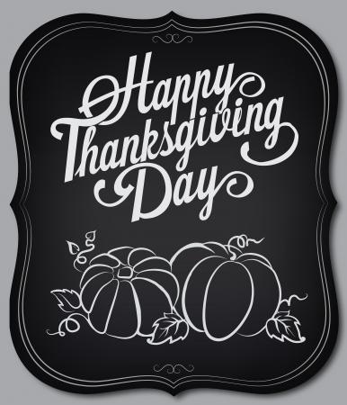 accion de gracias: Tarjeta con elementos de época. Día de Acción de Gracias