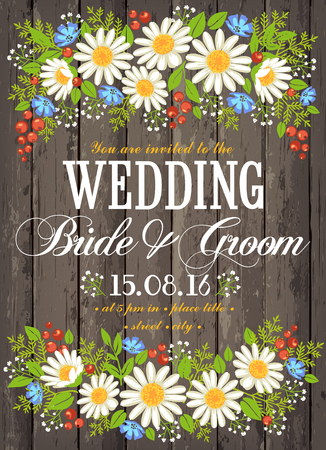 beuty: Wedding invitation card with beuty floral background. Inspiration card for wedding, date, birthday, tea or garden party