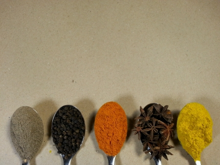 spacing: Spices