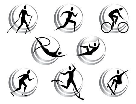 Icons of summer sports Vector
