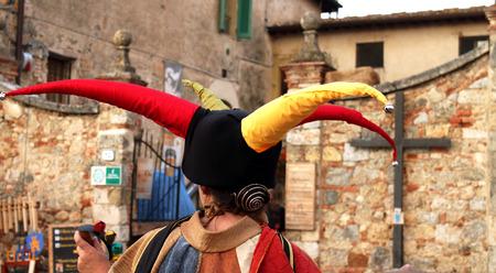 Jester hat photo