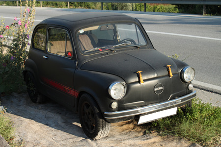 fico: Zastava Fico 750 Dubrovnik, Croatia. It is a version of the Fiat 600 made under licence from 1965. Editorial