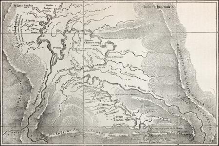 mapa del peru: Antiguo mapa de Quillabamba región, Perú. Creado bt Marcoy, publicado en Le Tour du Monde, París, 1864