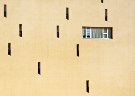 edifice: University of Palermo, edifice number 15, rear side detail  Faculty of Education Sciences