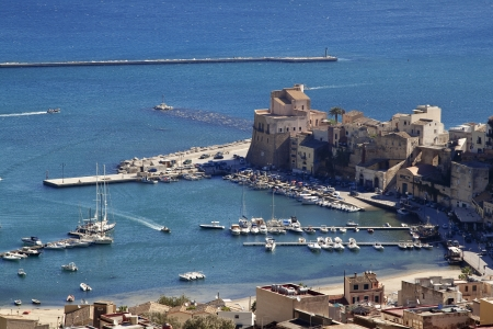castellammare del golfo: Castellammare del Golfo seaport, north-western Sicily