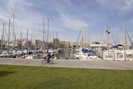 La Cala (The Cove): the oldest area of Palermo seaport, Sicily