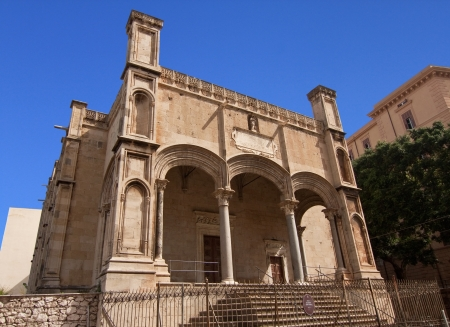 catena: Santa Maria della Catena church in Palermo, Sicily Stock Photo