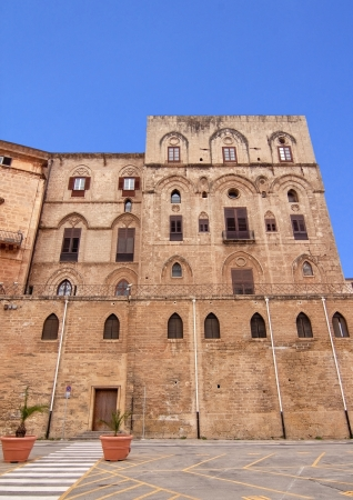 reale: Palazzo Reale (Royal palace) Norman side in Palermo, Sicily: Torre Pisana