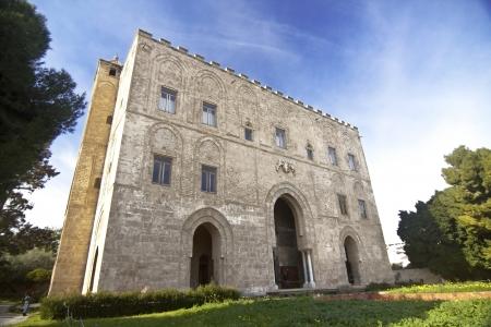 sumptuous: Zisa arab castle in Palermo, Sicily
