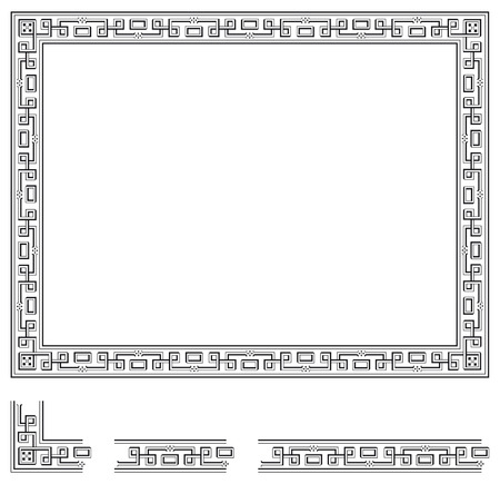 any size: Frame and modular elements to create others at any size