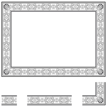 fretwork: Frame and modular elements to create others at any size