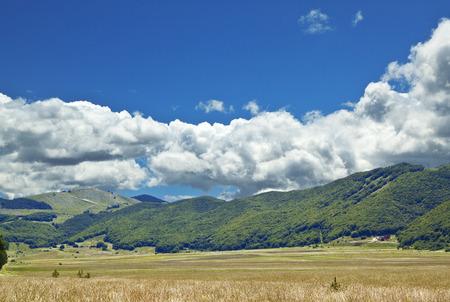 apennines: Altopiano delle cinquemiglia (Five miles plateau) is located at 1250 meters upon sea level in Abruzzo region, Italy