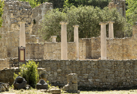 piazza: Villa del Casale ruins, Piazza Armerina, Sicily