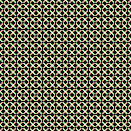 hypnotist: illustration of crazy cross seamless.
