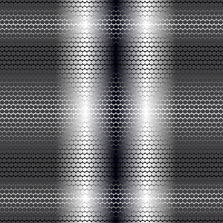 Vector illustration of metal pipe seamless pattern.