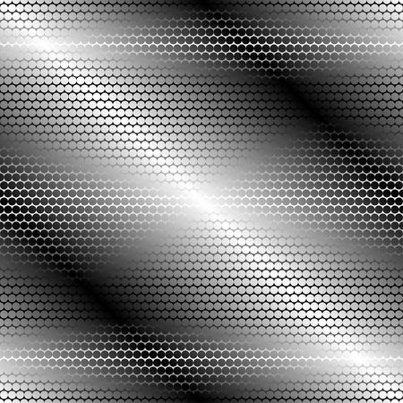 metalline: Vector illustration of metal seamless pattern. Illustration