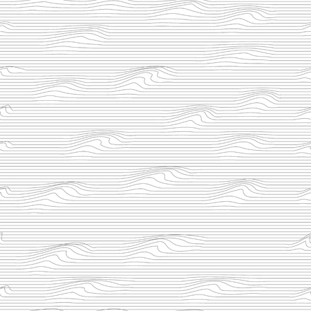 convex: Vector illustration of convex line seamless pattern background. Illustration