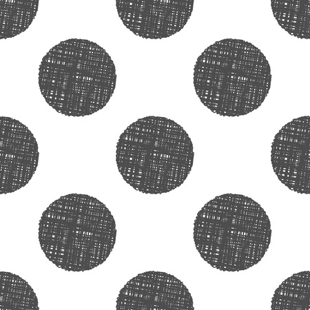 clew: Vector gray abstract clew seamless pattern background.