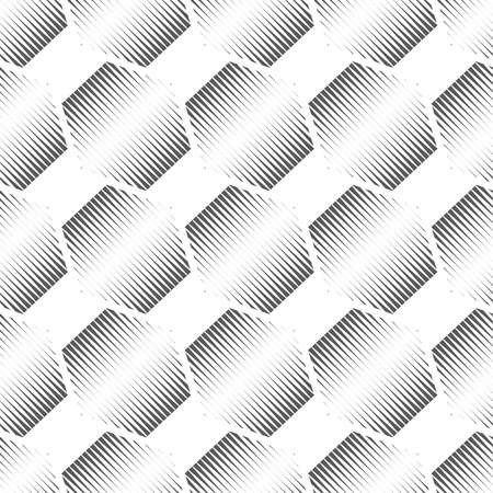 hexagonal shaped: Vector illustration of abstract gray polygons seamless patter background.