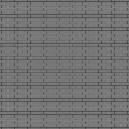 urban decay: Illustration of brick wall seamless pattern background