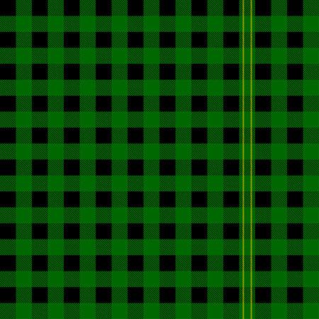 Vector scotish green tartan. Seamless tartan plaid.