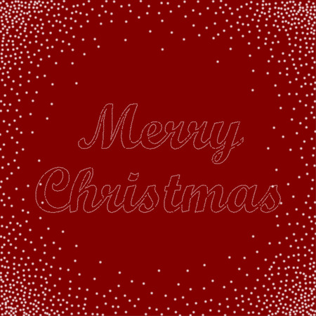 marry christmas: Marry Christmas greeting card. Marry Christmas vector background. Bublles text Marry Christmas. Vector illustration.