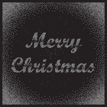 marry christmas: Vector Marry Christmas greeting card. Marry Christmas vector background. Bublles text Marry Christmas. Illustration