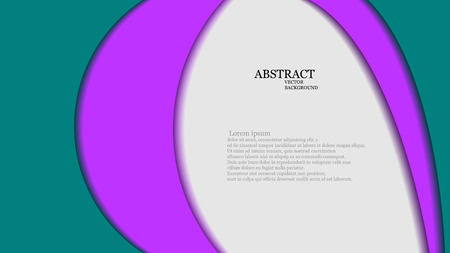 overlap: Vector abstract background with overlap circles.