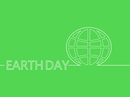 earth day: Earth Day vector background.
