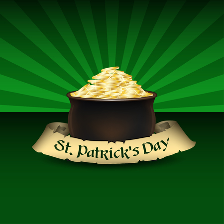 Vector background for Saint Patricks Day.