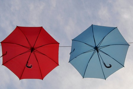 floatable: Umbrella in the sky