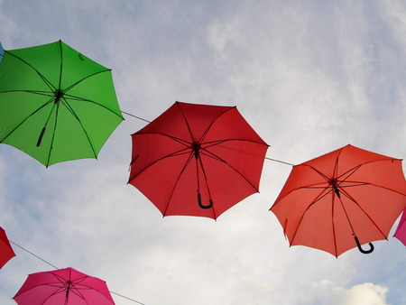 floatable: Umbrella in the sky