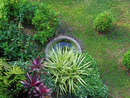 birdeye: Small park or small garden
