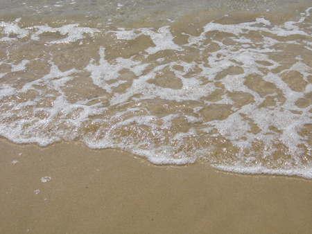 sea wave: Sea wave and beach